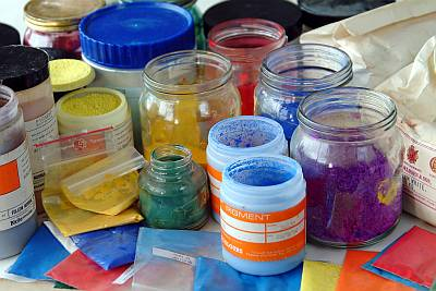 Pigments For Encaustic Wax Paint And Mediums