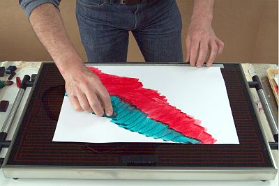 Hotplate basics for use with encaustic wax